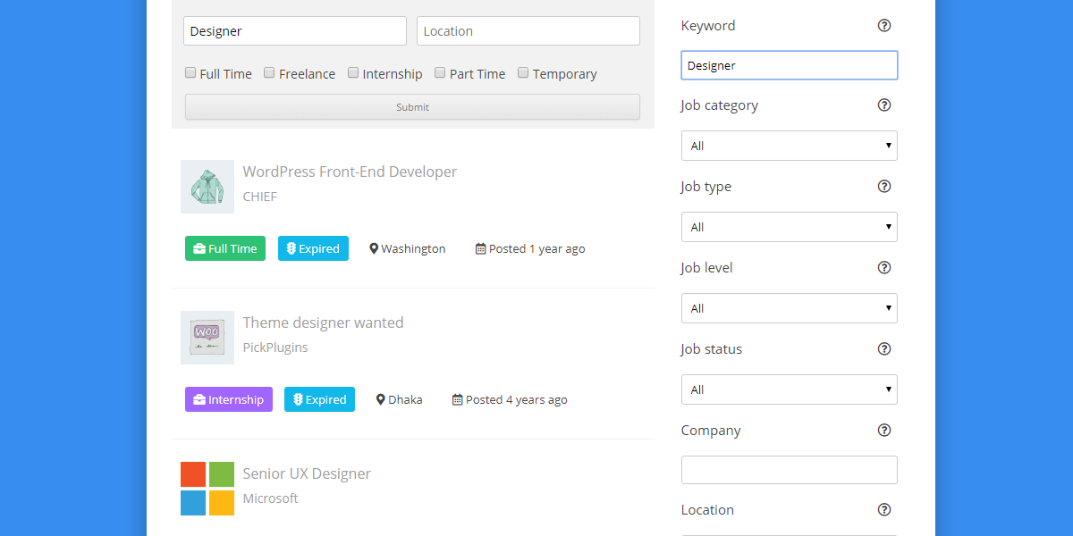 Job Board Plugin WordPress